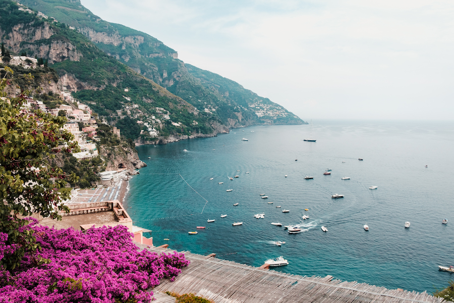 Positano Colours - by Ben Holbrook
