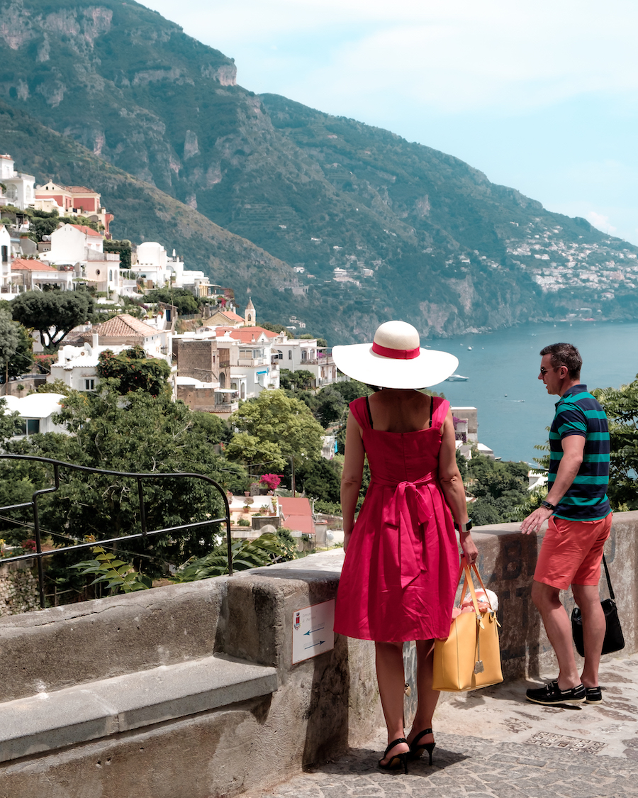 Postcard Positano - by Ben Holbrook