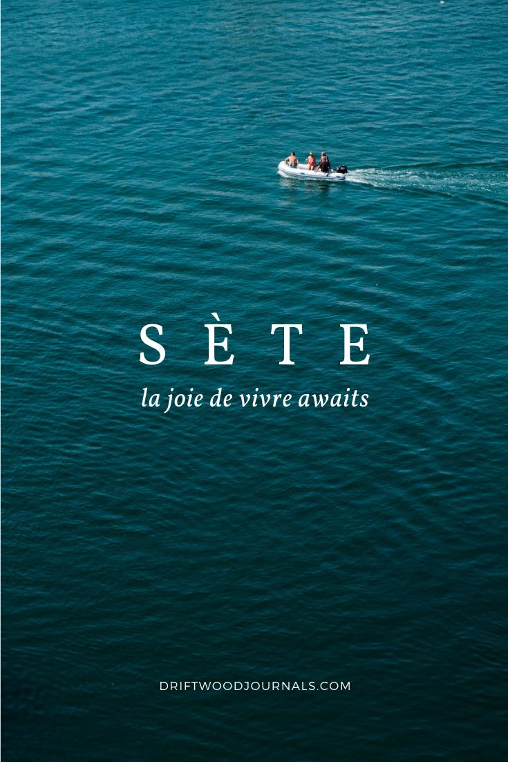 Sete, Southern France