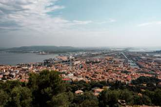 Views over Sete from the Mont Saint-Clair Viewpoint n Sete, Southern France ~ By Ben Holbrook from DriftwoodJournals.com7