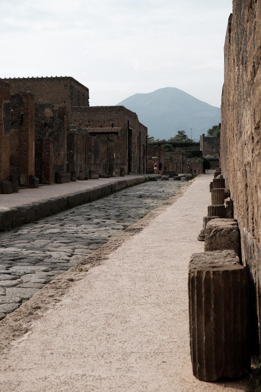 Vesuvius and Pompeii - by Ben Holbrook