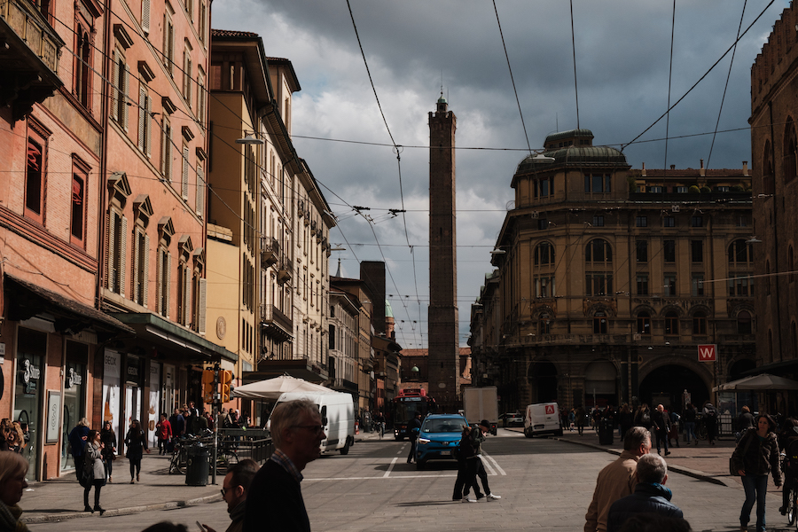 Bologna leaning towers of Garisenda and Asinelli, Italy Things to Do – Travel Photography by Ben Holbrook from DriftwoodJournals.com21