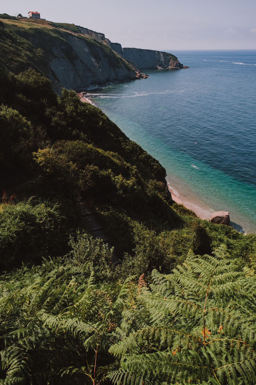 Playa de Serín nudist beach in Gijón, Asturias (northern Spain) by Ben Holbrook from DriftwoodJournals.com