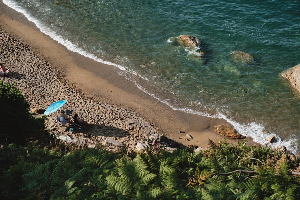 Playa De Estaño, Asturias, northern Spain by Ben Holbrook from DriftwoodJournals.com