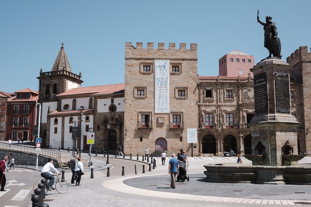 Don Pelayo, Gijón, Asturias (northern Spain) by Ben Holbrook from DriftwoodJournals.com