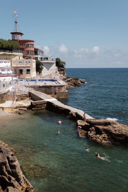 Nautical club, Gijón, Asturias (northern Spain) by Ben Holbrook from DriftwoodJournals.com