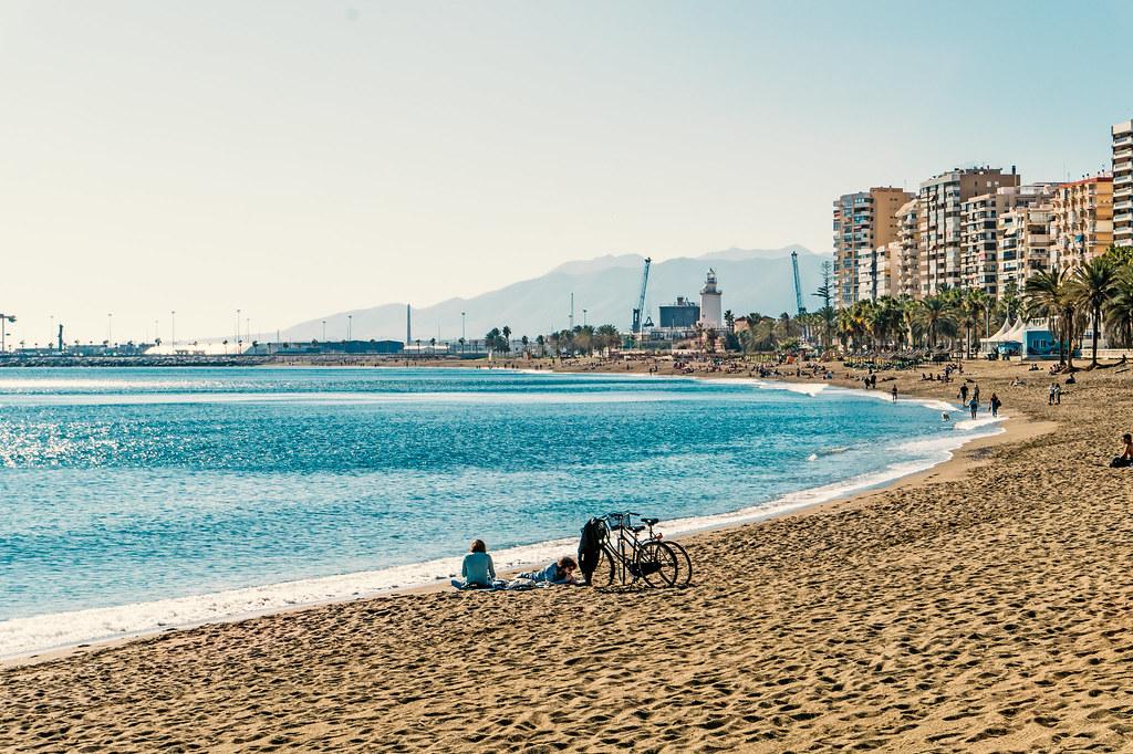 Playa de Malagueta Malaga