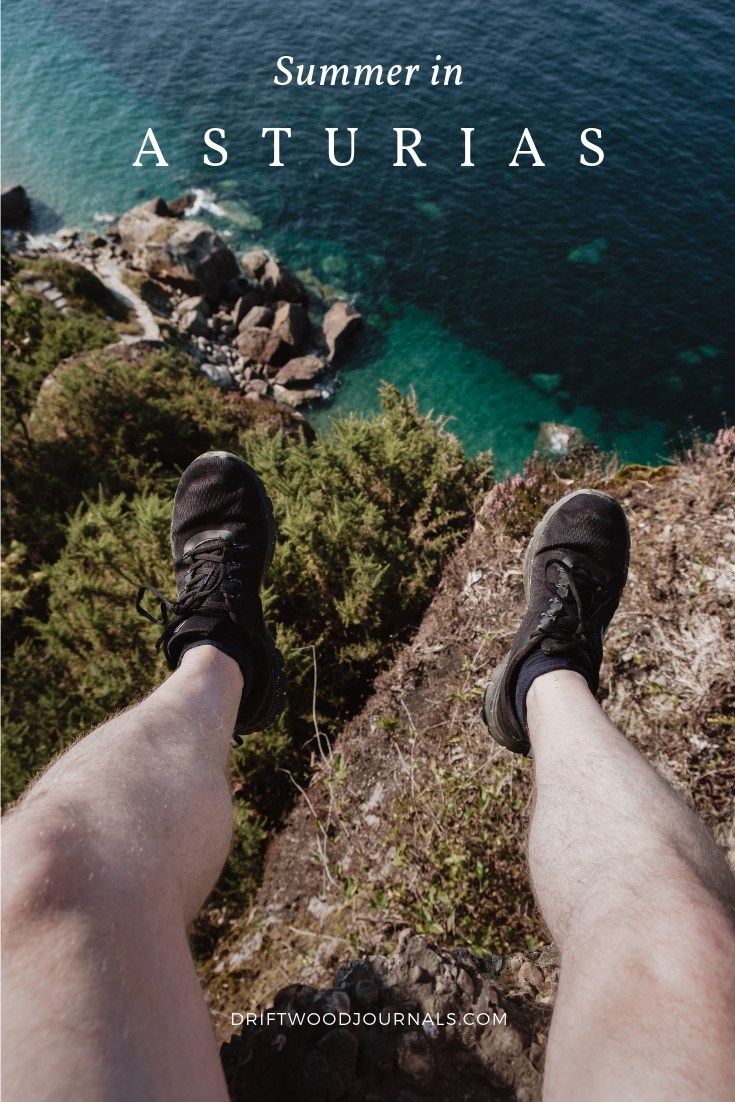 Summer in Asturias, by Ben Holbrook from Driftwood Journals