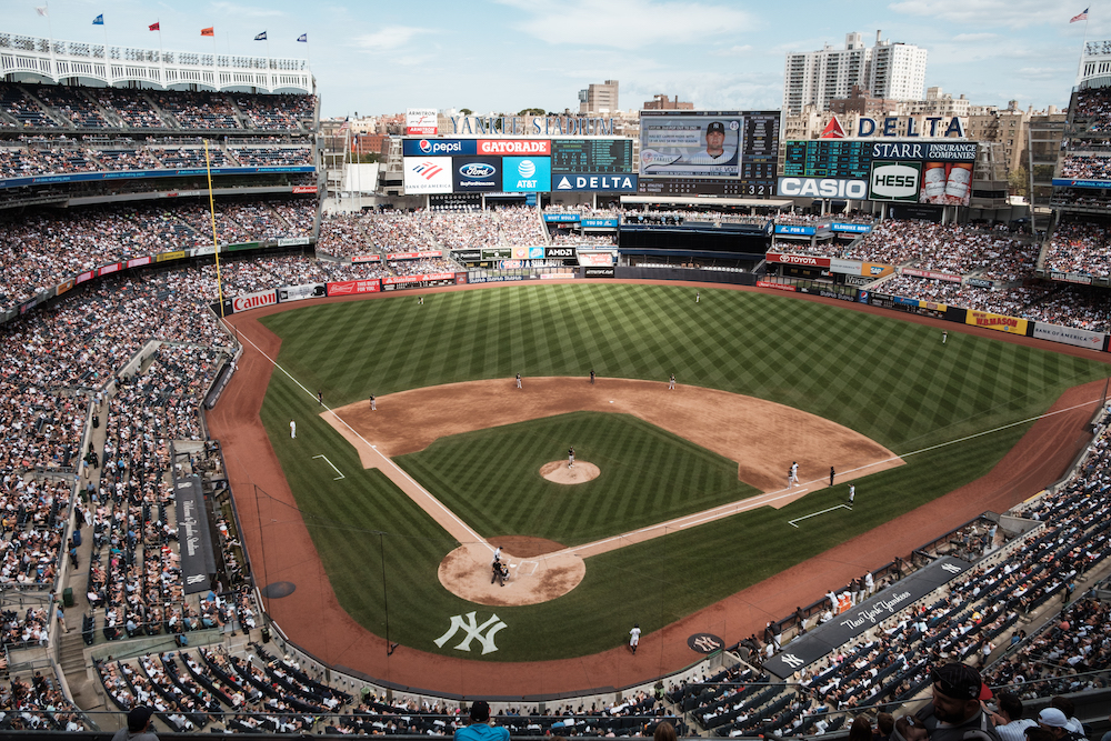 Yankee Stadium baseball game, New York Travel and Street Photography by Ben Holbrook from DriftwoodJournals.com-9325
