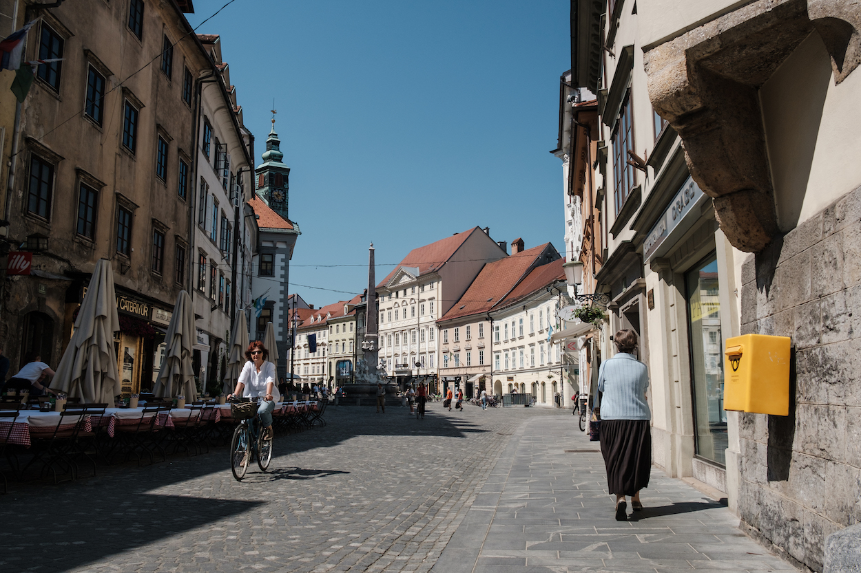 Cycling in Ljubljana, Slovenia, Travel and Street Photography by Ben Holbrook from DriftwoodJournals.com-6567