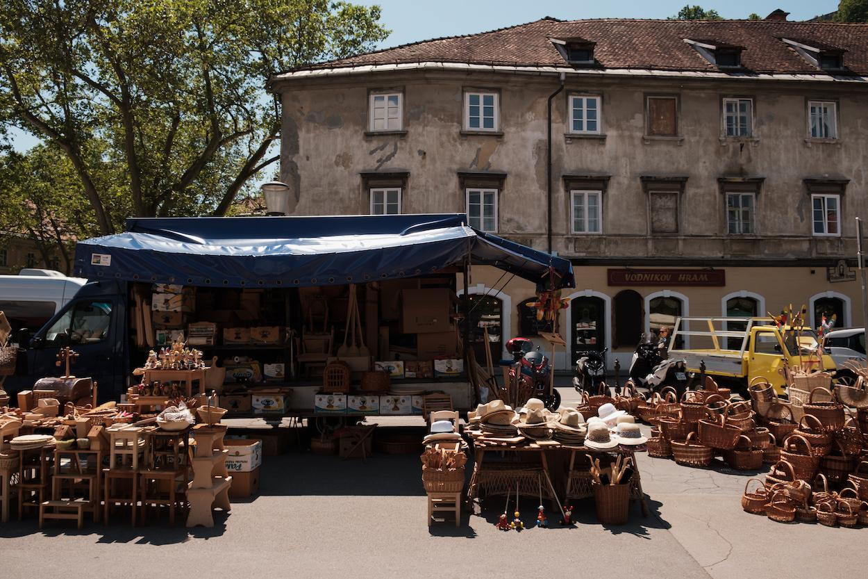 Ljubljana Central Market, Slovenia Travel Photography by Ben Holbrook from DriftwoodJournals.com-6700