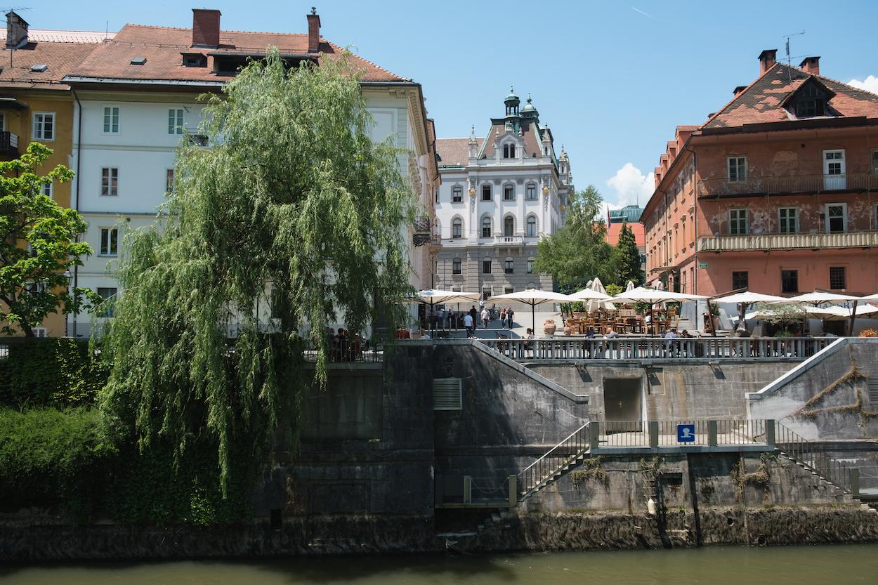 Ljubljana river living, Slovenia Travel Photography by Ben Holbrook from DriftwoodJournals.com-6898