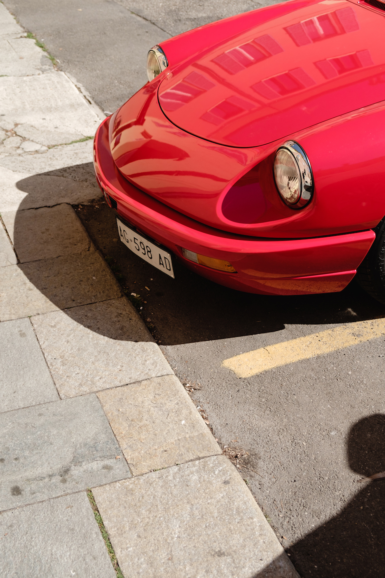 A vintage Alfa Romeo in Modena - Travel and Street Photography by Ben Holbrook from DriftwoodJournals.com-5607