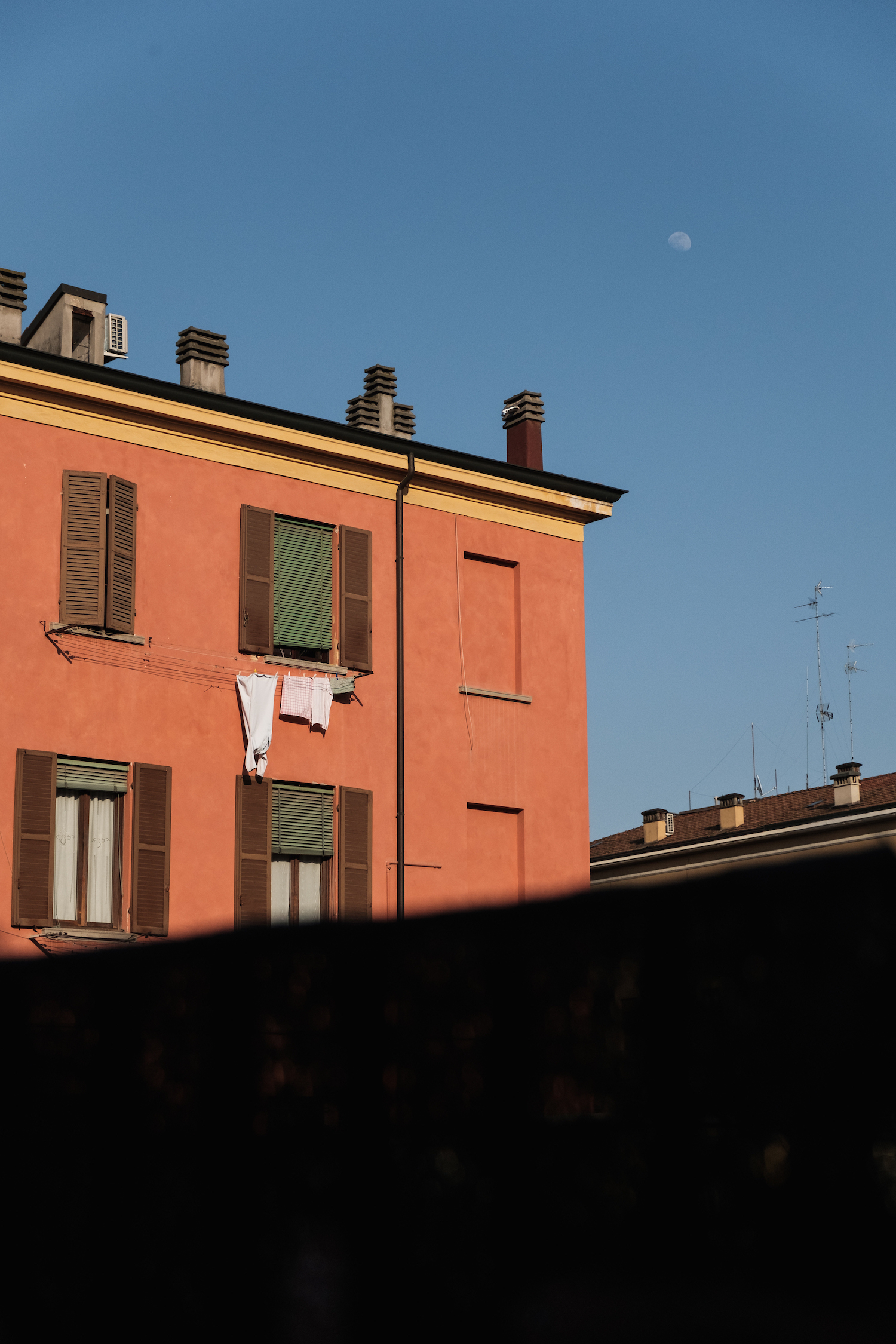 Colourful buildings in Modena - Travel and Street Photography by Ben Holbrook from DriftwoodJournals.com-5607