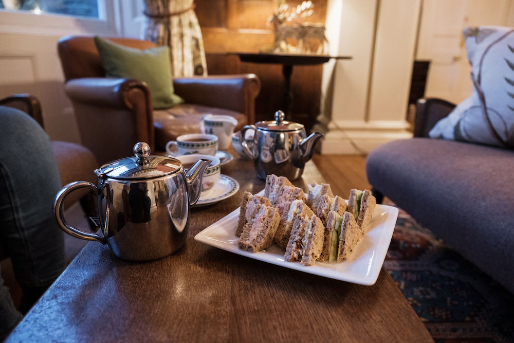 Afternoon Tea Buffet at Gliffaes Country House Hotel | Crickhowell, Wales, UK - Travel Photography by Ben Holbrook from DriftwoodJournals.com-6438