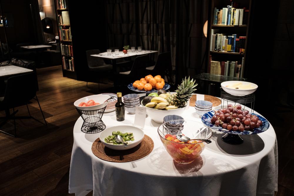 Breakfast in Jardin del Alma, Alma Hotel Barcelona by Ben Holbrook from DriftwoodJournals.com