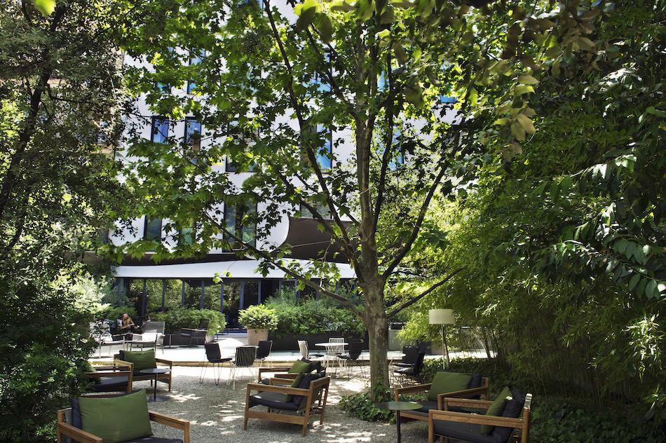 Jardin del Alma Restaurant, Alma Hotel Barcelona