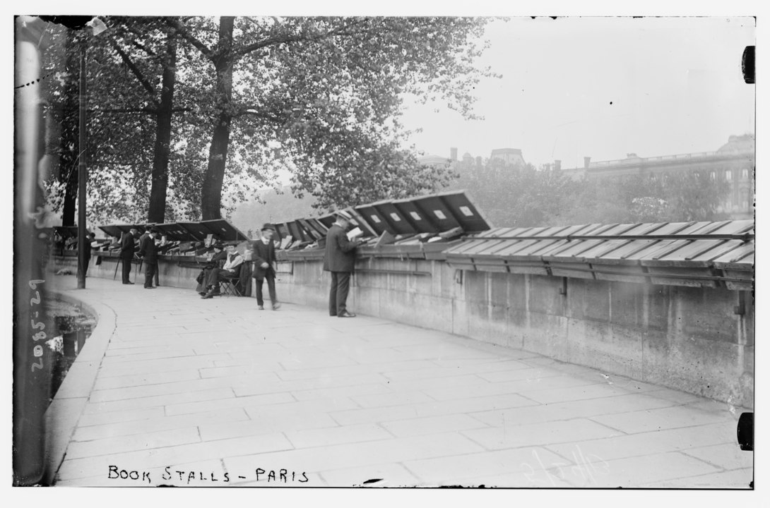 Book stalls on Paris' River Seine