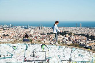 Colserolla Mountains Barcelona - by Ben Holbrook from DriftwoodJournals.com