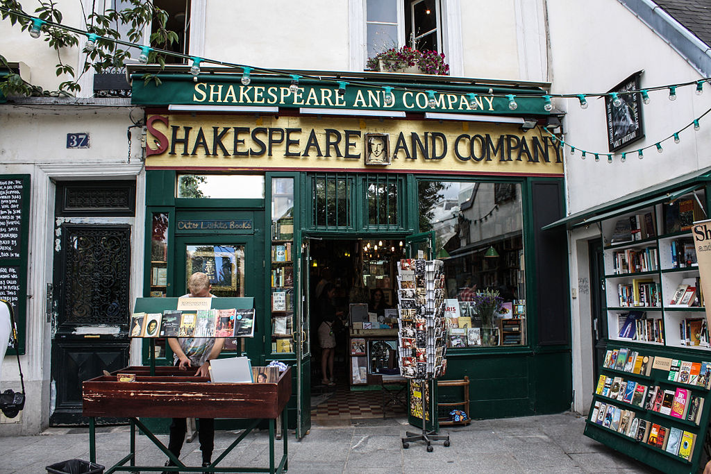 Shakespeare_and_Company_Bookstore Paris