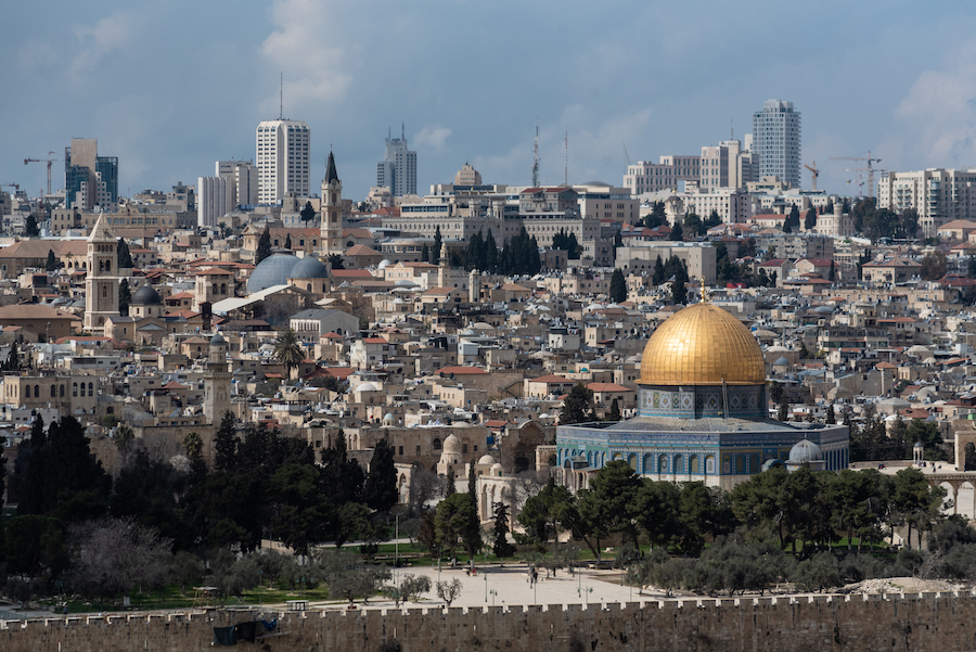 Jerusalem from the Olive Mount Viewing Point - Israel Travel Photography by Ben Holbrook from DriftwoodJournals.com-1583