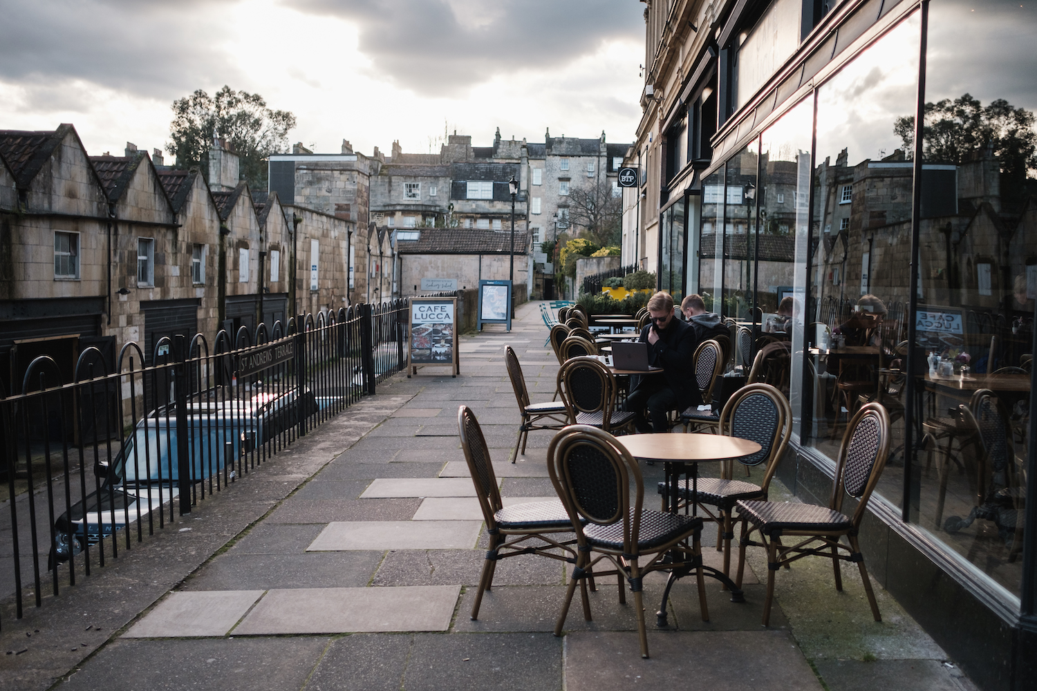 Cafes in Bath, England Travel and Street Photography by Ben Holbrook from DriftwoodJournals.com-4