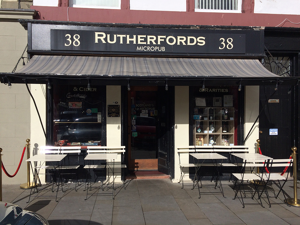 Rutherfords Micropub – Kelso, in the Scottish Borders