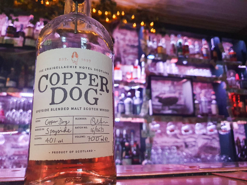 The Copper Dog at Craigellachie Hotel – Speyside, Scotland