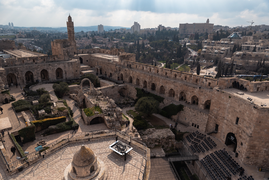 Tower of David, Israel Photography by Ben Holbrook from DriftwoodJournals.com-1879