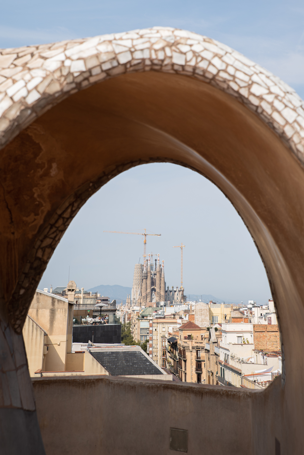 Antoni Gaudi's Casa Mila (aka La Pedrera) Modernista Architecture, Eixample, Barcelona - by Ben Holbrook from DrifftwoodJournals.com20