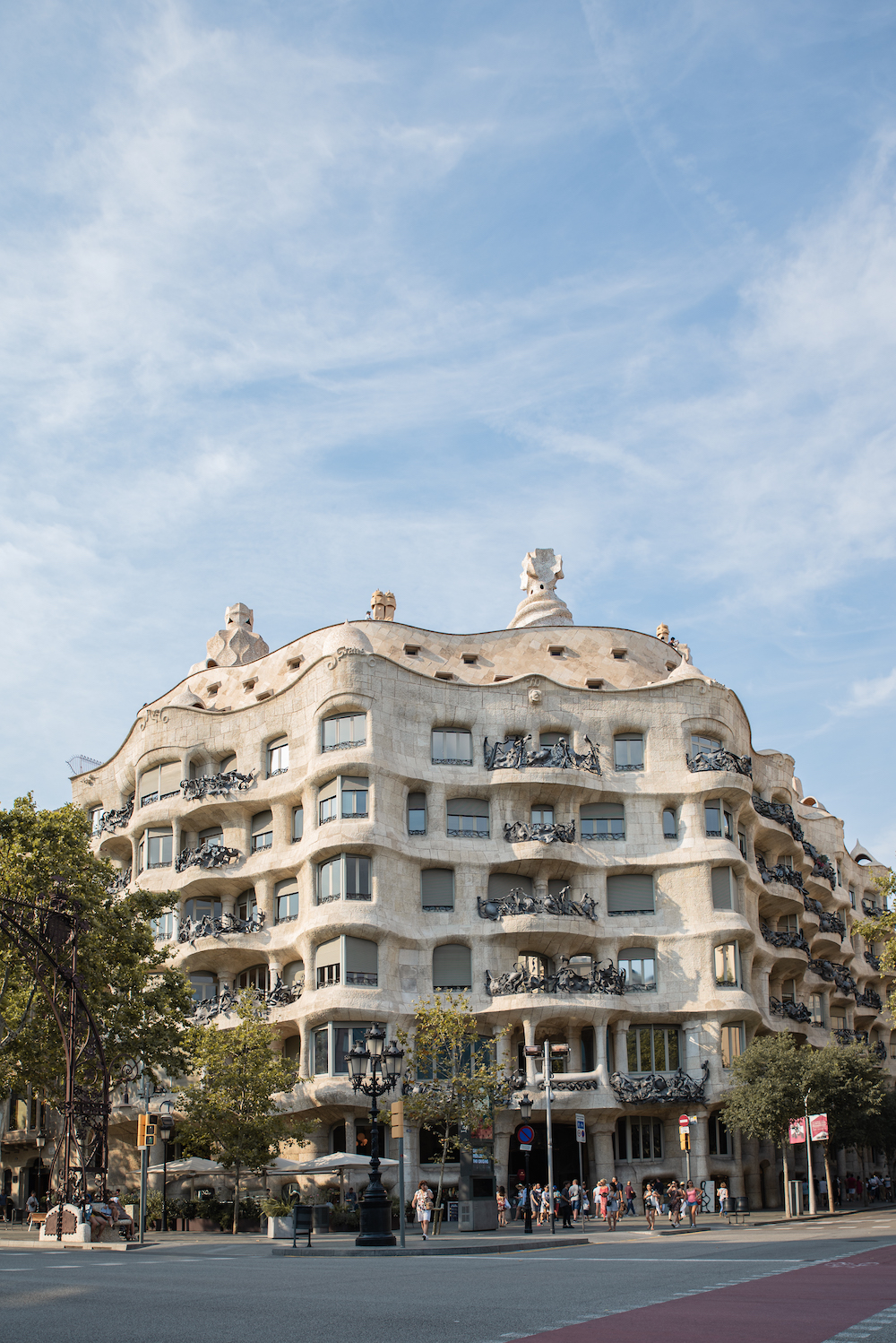 Antoni Gaudi's Casa Mila (aka La Pedrera) Modernista Architecture, Eixample, Barcelona - by Ben Holbrook from DrifftwoodJournals.com5