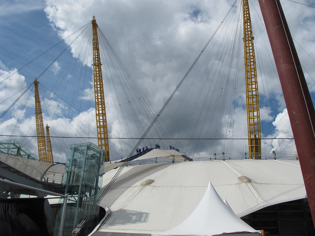 Climb to the top of the O2 Arena