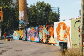 3. Poblenou - See the Best Street Art in Barcelona