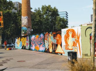 3. Poblenou - See the Best Street Art in Barcelona