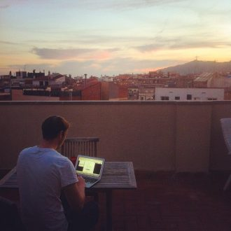 Procrastinating in Paradise, or Barcelona Balcony Blues - A Travel Blog About Life in Barcelona by Ben Holbrook