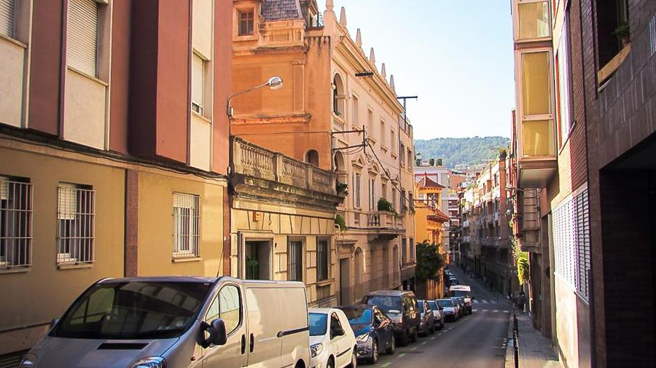 Carrer d'Hurtado, Barcelona, Spain by Ben Holbrook from DriftwoodJournals.com