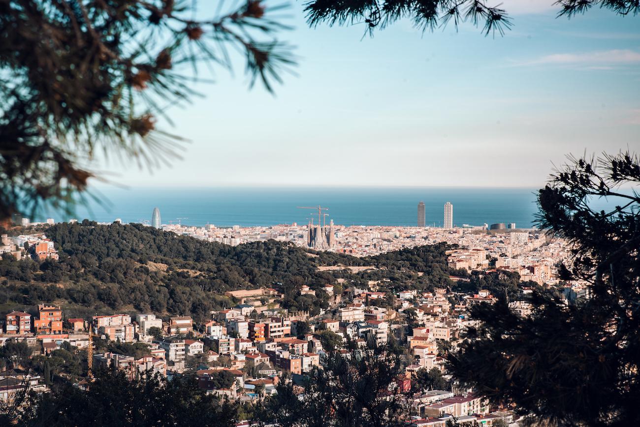 Colserolla Mountains Barcelona - by Ben Holbrook from DriftwoodJournals.com
